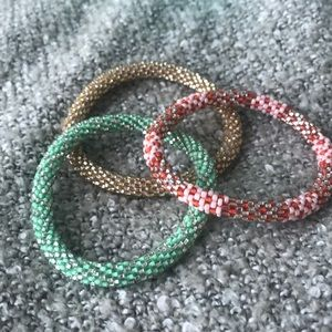 Lily and Laura set of bracelets